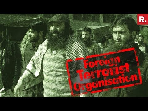 Hizbul Designated As Foreign Terrorist Organisation By US State Department