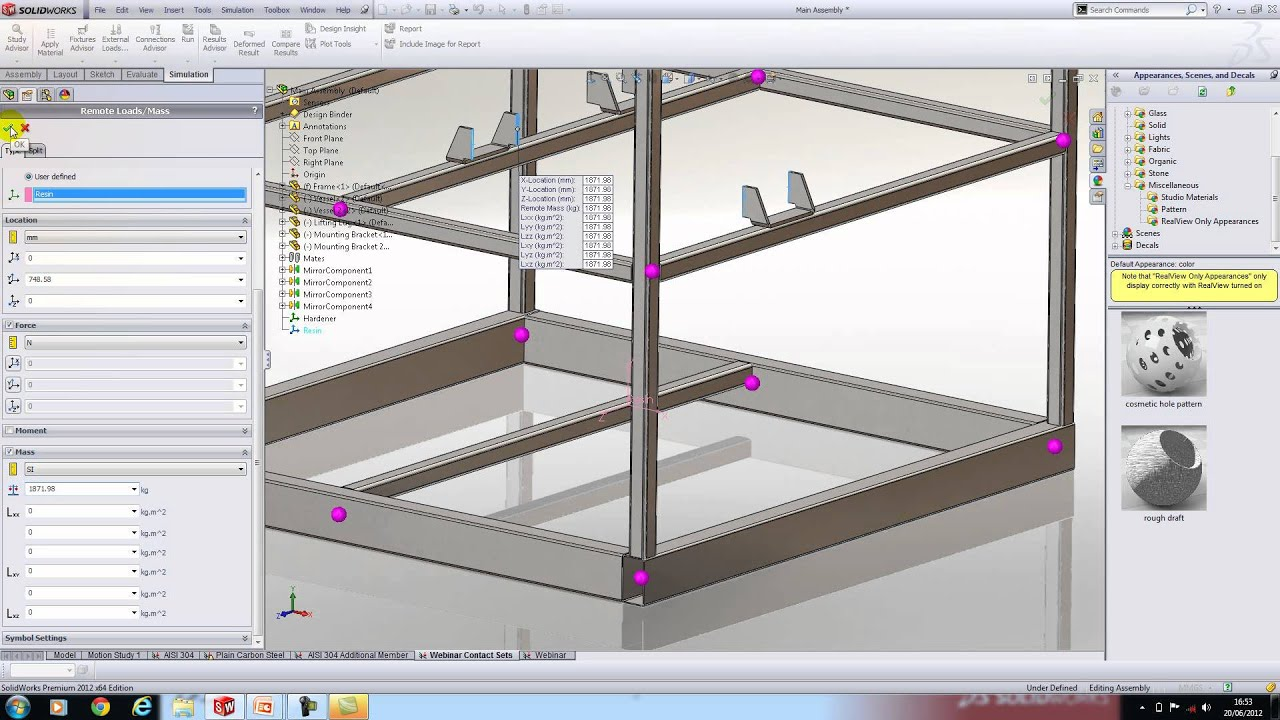 An Introduction To Beam Analysis In Solidworks Simulation
