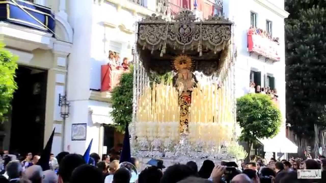 Hermandad De La Estrella Salida Semana Santa Sevilla 2015