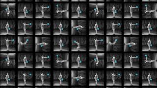 Fitness Dance  - Original Video Art by Luke Conroy