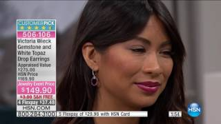 HSN  Victoria Wieck Gemstone Jewelry 01.09.2017 - 03 PM