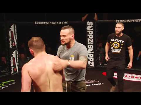 Chosen Few Fighting Championships Jason Witt vs  Mark Lemminger