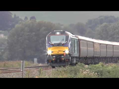 68017 TnT 68002 Northern Belle @ Newton st Loe 24-09-16