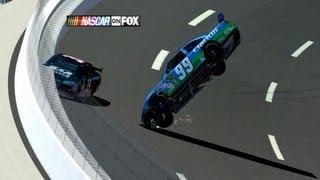 2009 Carl Edwards Crash Reenactment