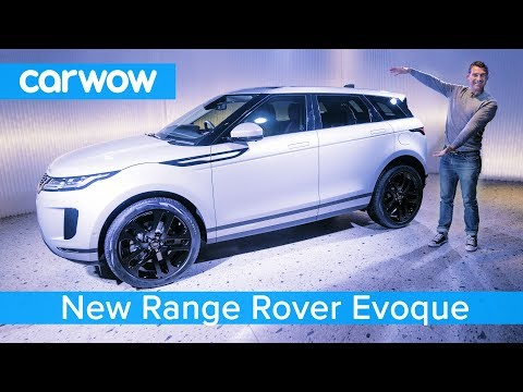 All-new Range Rover Evoque SUV 2019 revealed - and I鈥檝e driven it 鈥榦ff-road鈥�!