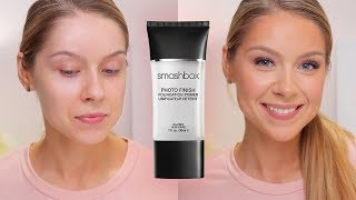 smashbox Photo Finish Foundation Primer Review  Day 391 of Trying a New Makeup Product Every Day
