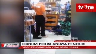 Viral!! Oknum Polisi Aniaya 2 Wanita & 1 Anak