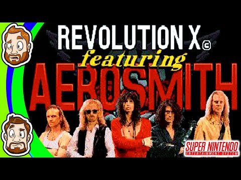 Aerosmith: Revolution X (SNES): This is Rough | CHAD & RUSS