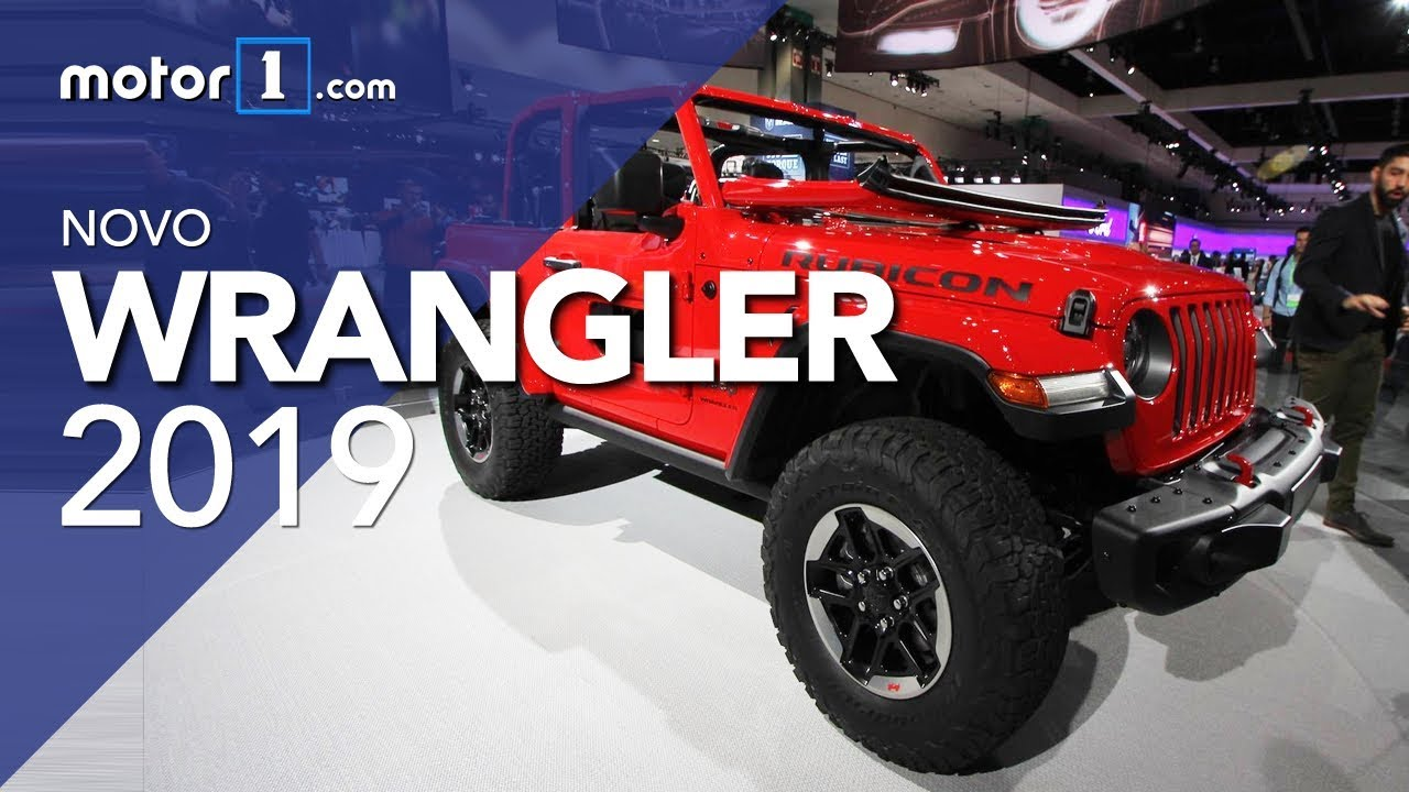 Jeep Truck >> Novo Jeep Wrangler 2019 - Salão de Detroit - YouTube