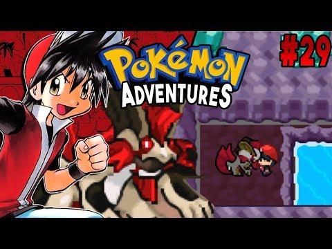 Pokemon Adventures Red Chapter Part 29 LAKE MONSTER BONUS CHAPTER Rom hack Gameplay Walkthrough
