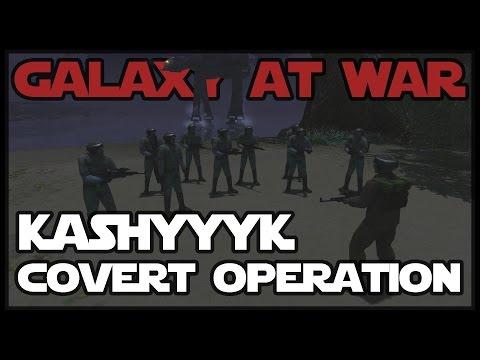 KASHYYYK COVERT OPERATION -  Star Wars Mod - Men of War: Assault Squad 2