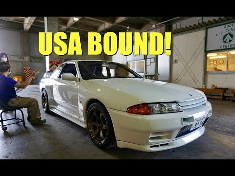 Shipping My GTR to the USA via the US Military