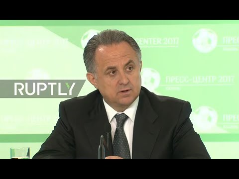 LIVE: Mutko speaks at Confederations Cup press conference