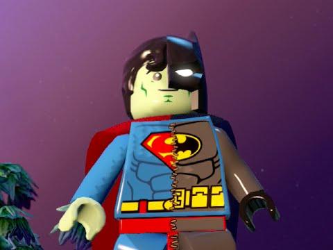 LEGO BATMAN 3 - Composite Superman SUPERBAT! FREE ROAM GAMEPLAY
