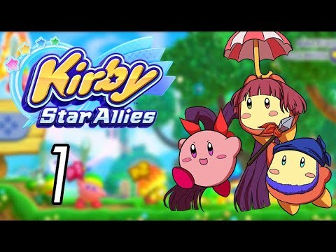 Let's Play Kirby Star Allies [1] Making friends!