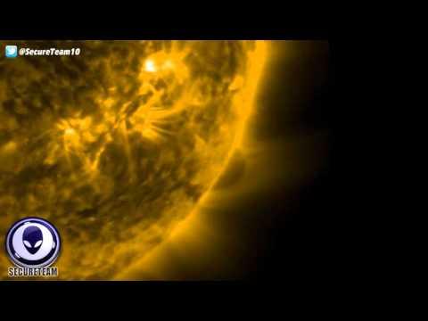 GIANT Spherical Object Near the Sun On NASA'S SDO!