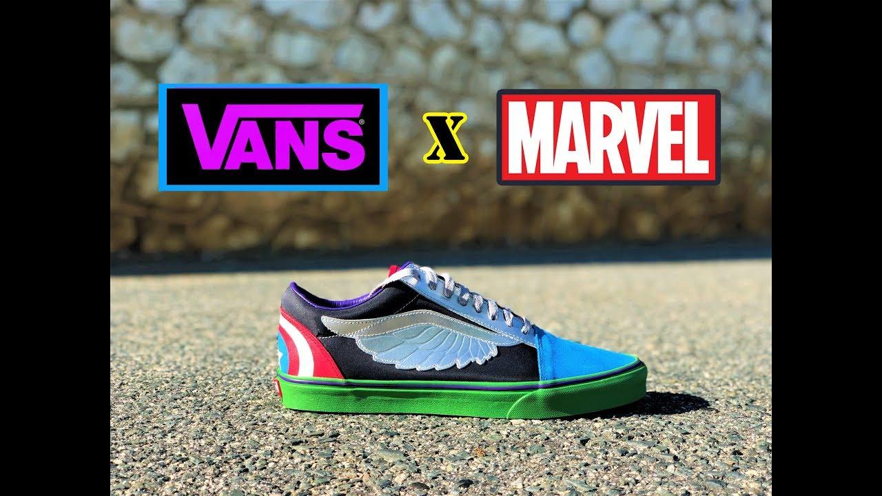 a3836593d92  REVIEW  Vans x Marvel Old Skool