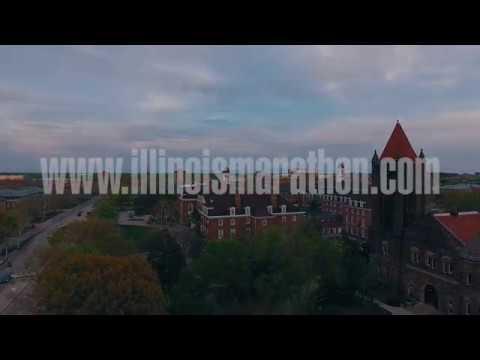 Illinois Marathon Course Video
