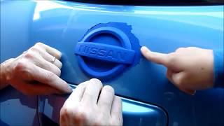 Nissan Leaf 011 - De-chroming the chromy chromeness