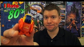 McDonalds Changeables Transformers Happy Meal Toys - Irate the 80