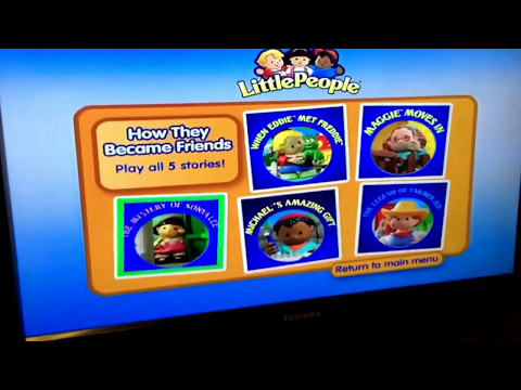 Fisher Price Little People Friendship Collection DVD Walkthrough