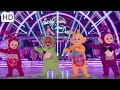 Teletubbies Do the Strictly on BBC Strictly Come Dancing