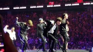 Download Lagu 슈퍼주니어 Super Junior - Lo Siento ft. Leslie Grace Kcon NY 18 fancam HD 4K pit view 180623 Mp3