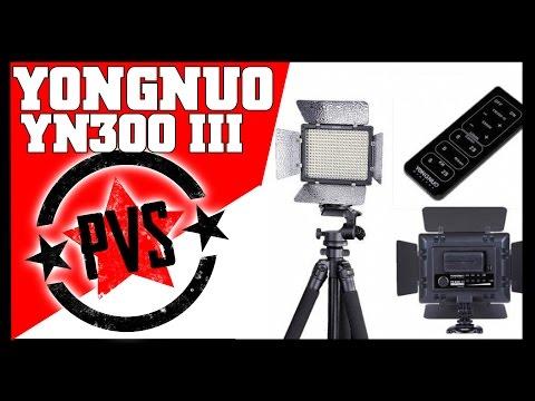 Yongnuo YN300 III - BEST Portable LED Lighting!