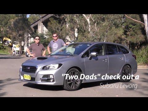 2016 Subaru Levorg Gt S Two Dads Review Brrrrm Australia