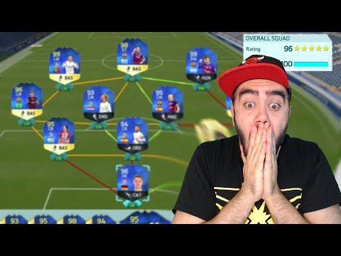 YOK ARTIK EN YÜKSEK REYTING YAPMAYI DENEDIK (FIFA 18 FUT DRAFT)