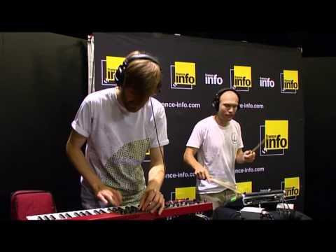 La session France Info Little Dragon Shuffle a dream - une vidéo Música