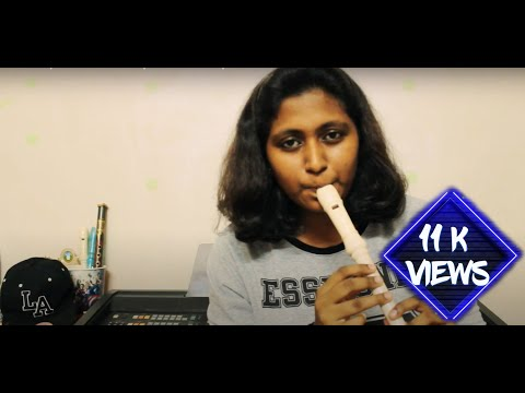 Oh Penne | Vanakam Chennai | Recorder cover | Instrument
