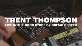 Trent Thompson Live in the Moog Store by Guitar Center