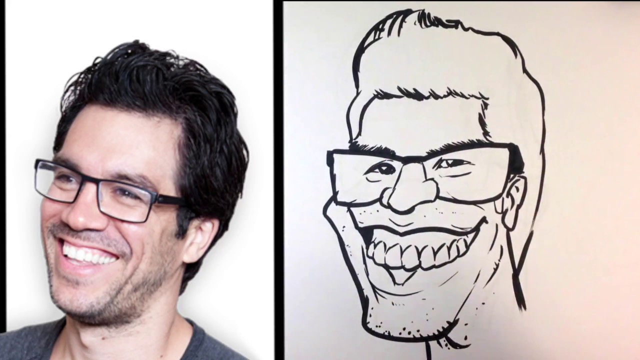 how to caricature tai lopez