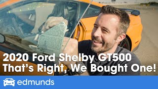 We Bought a 2020 Ford Mustang Shelby GT500! Unboxing, Overview and Handling Pack Installation
