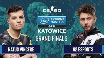 CS:GO - G2 Esports vs. Natus Vincere [Nuke] Map 1 - Grand Finals - IEM Katowice 2020