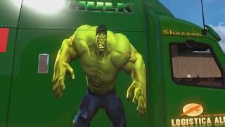 Obsequio Skin Hulk ATS  y  sorpresa a un fan en conversación