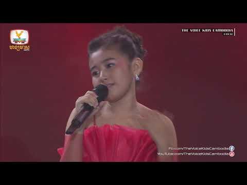 Sok Socheata - Plov Sneah Baek Bak (Live Show  Final | The Voice Kids Cambodia 2017)
