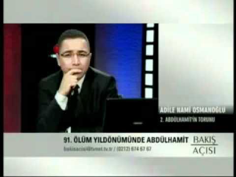(K203) II. Abdülhamid'in torunu Adile Nami Osmanoğlu'ndan Üstad Kadir Mısıroğlu'na teşekkür