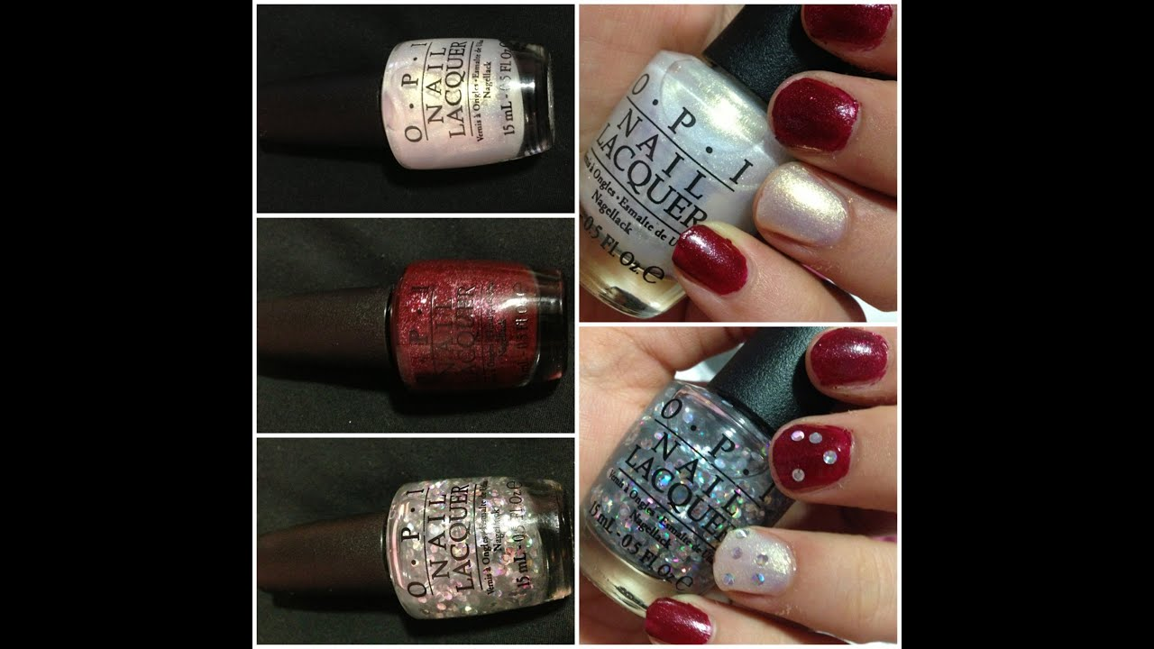 OPI Mariah Carey Holiday 2013: Review Swatches - YouTube