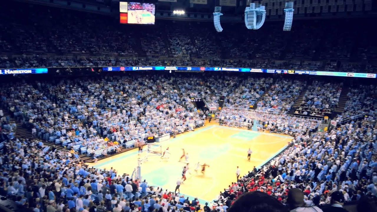 UNC basketball defeat UNLV at the Dean Dome 2012/2013 ...
