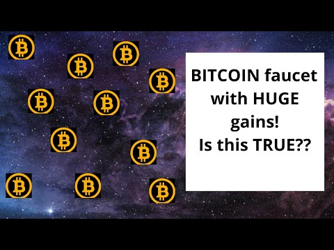 Bitcoin Faucet With HUGE Claims ( Can This Be True? )