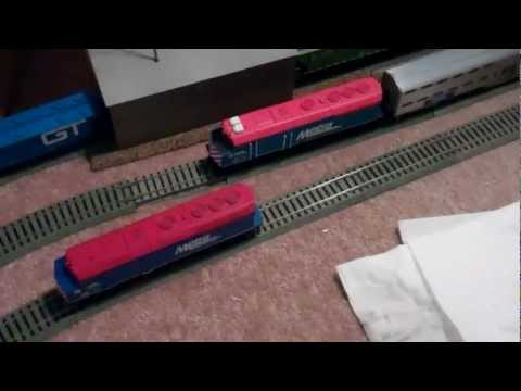 How To Clean Model Locomotive Wheels