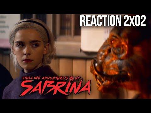 CHILLING ADVENTURES OF SABRINA REACTION PART 2 EPISODE 2