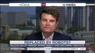 Martin Ford explains the need for basic income on MSNBC