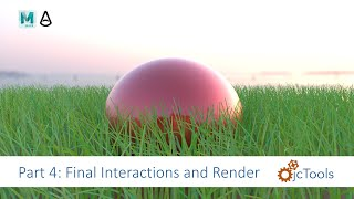Maya Tutorial: nCloth water balloon collide with nHair driven xgen grass