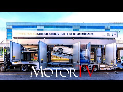 CAR FACTORY : NEW ELECTRIC TRUCKS l BMW PLANT MUNICH l 100% electric, clean and quiet
