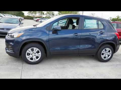 New 2018 Chevrolet Trax Sunrise Fl Miami Fl Jl254244 Sold Youtube