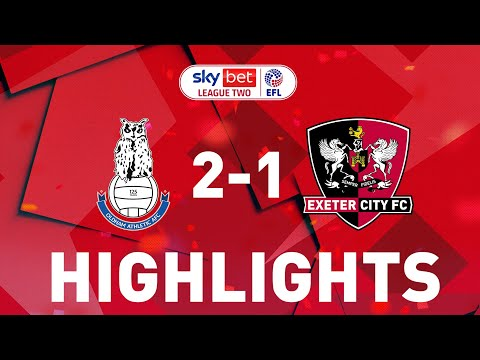 Oldham Exeter City Goals And Highlights
