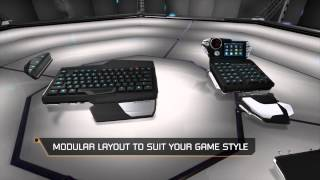 Mad Catz STRIKE 7 Gaming Keyboard